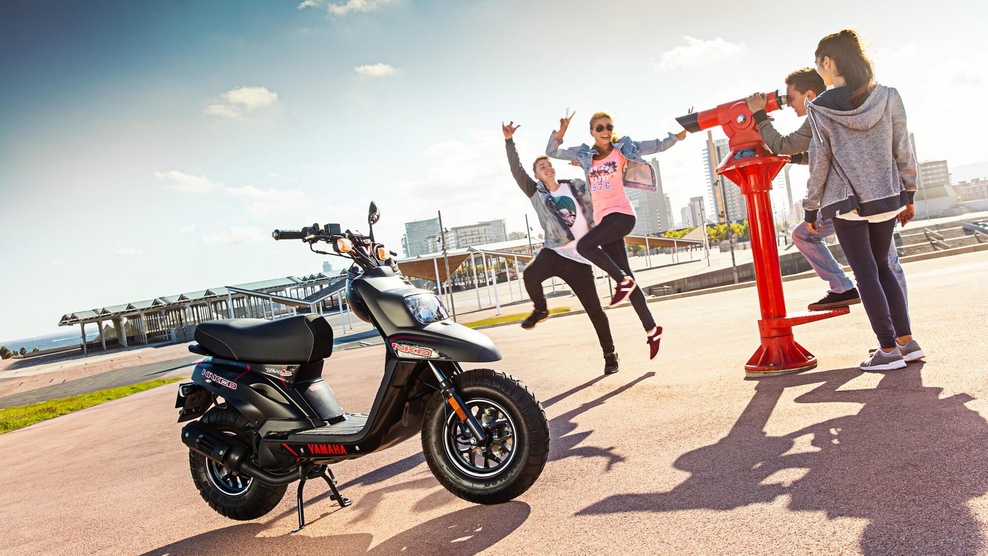 BWs Naked 2016 - Scooter - Yamaha Motor Belgique