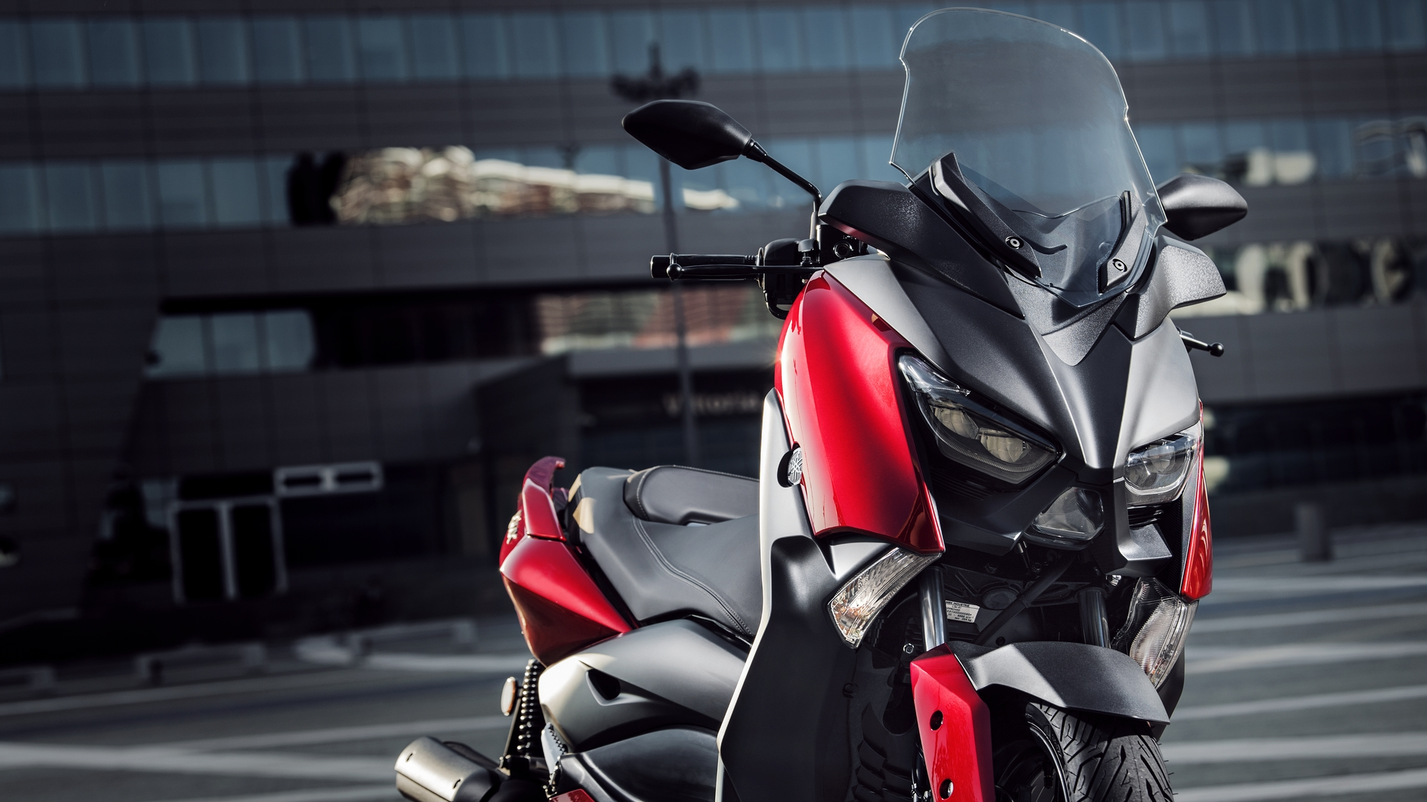 yamaha xmax125 radical red
