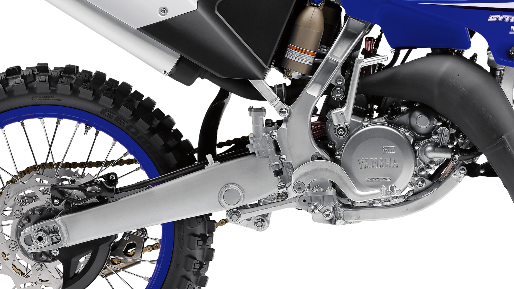 Yamaha YZ125 2018 - Features and Technical Specifications