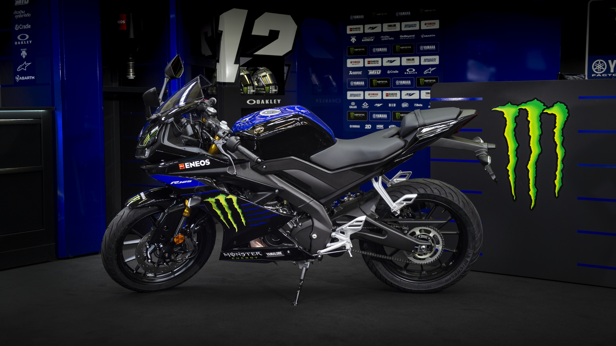 Yzf R125 Monster Energy Yamaha Motogp Edition Motorcycles