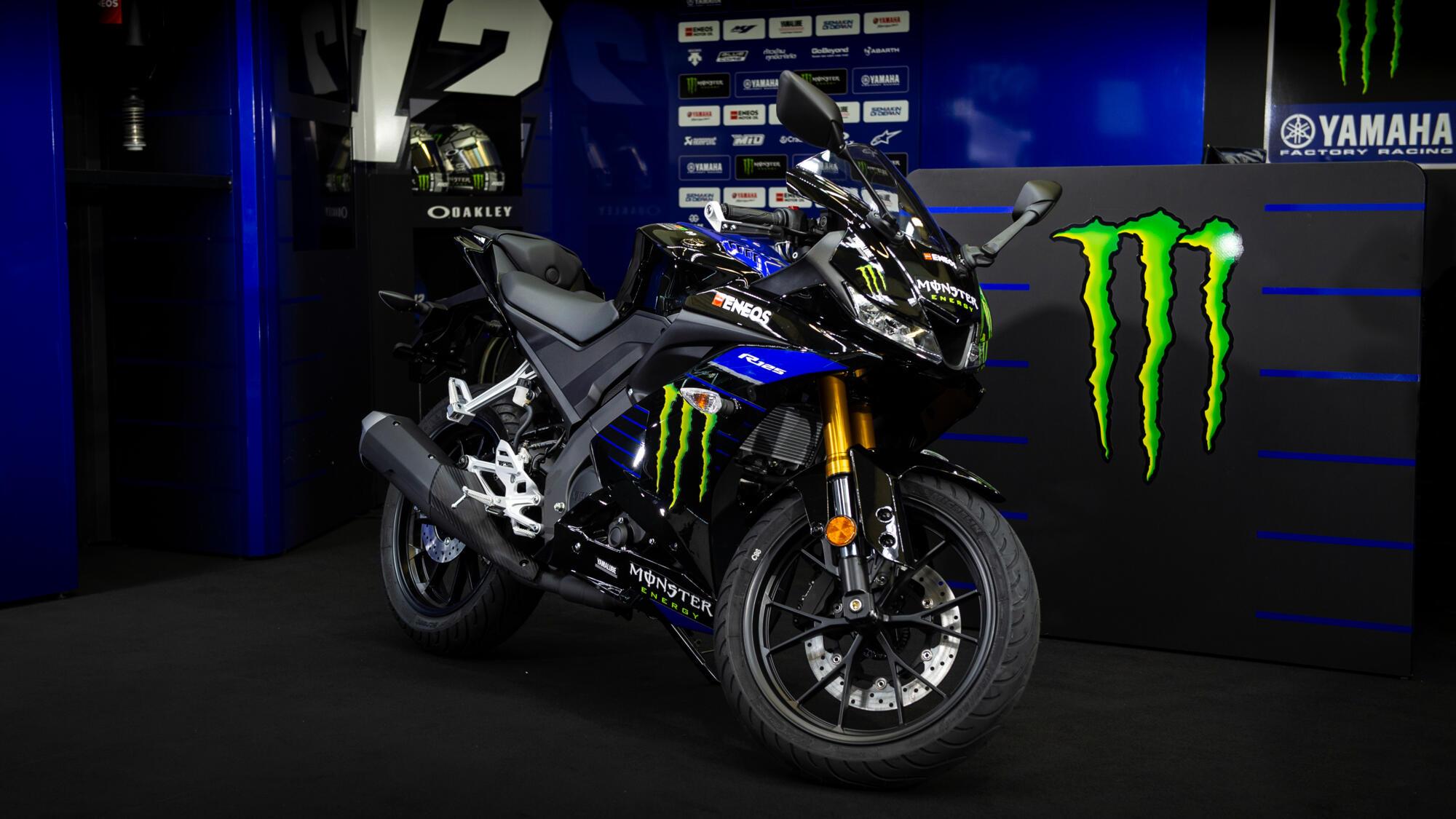 Yamaha YZF R125 Monster Energy 2019 MotoGP Edition, Midnight