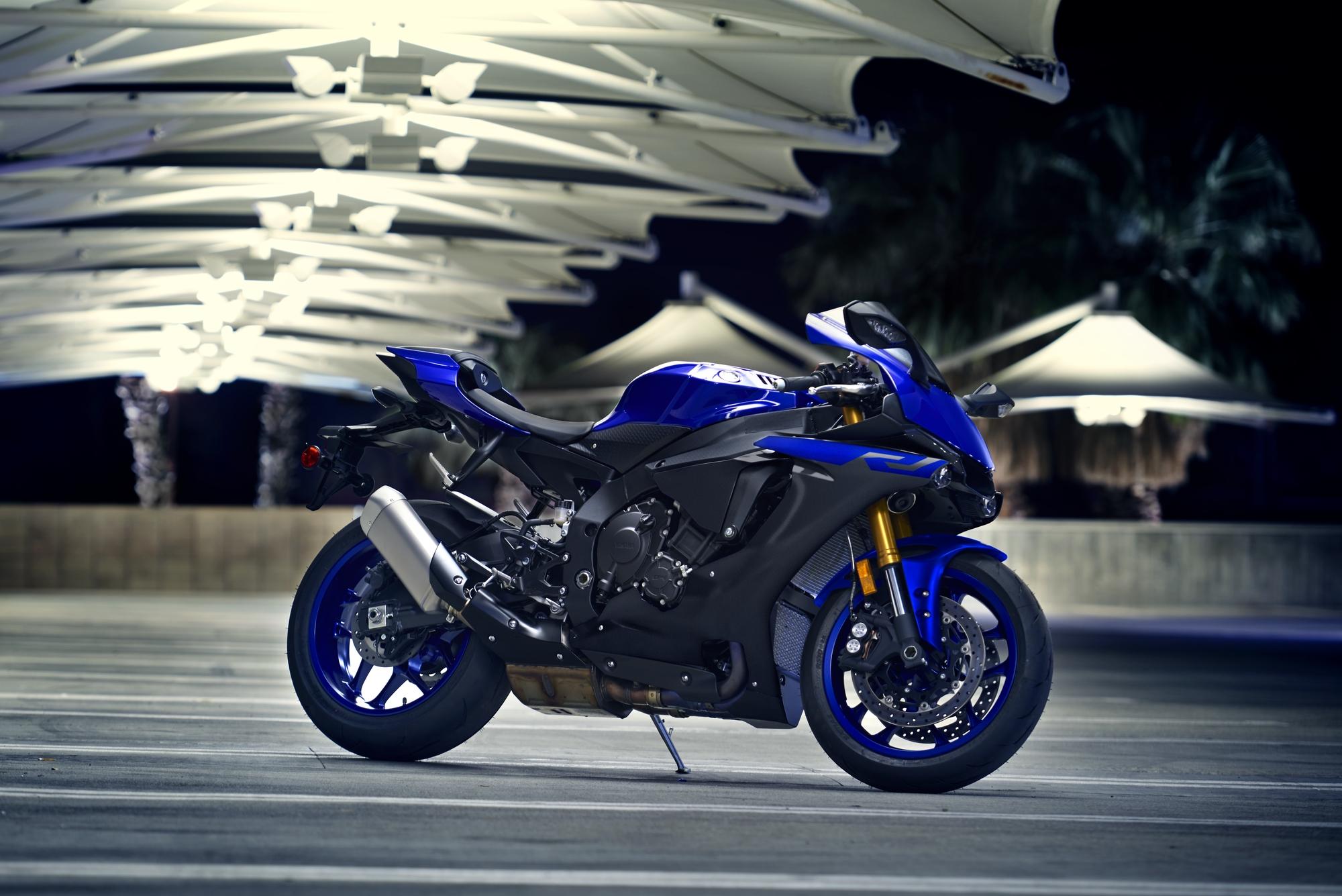 Yamaha R1 2019 Farben