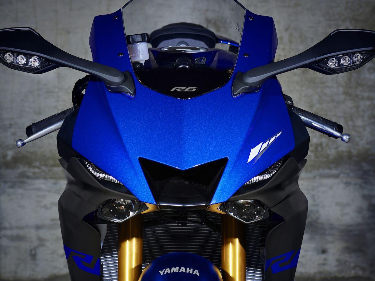 2019 Yamaha YZF600R6 EU Yamaha Blue Detail 002 Tablet YZF R6