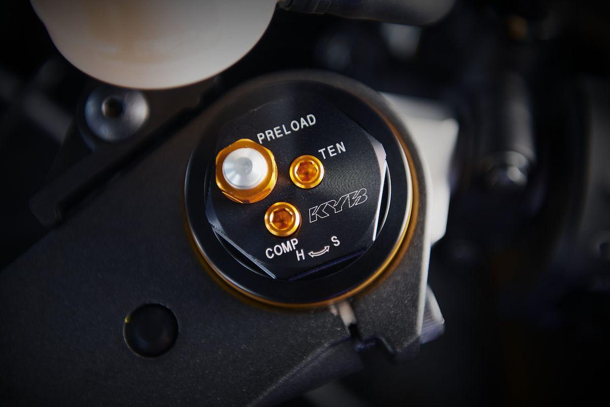 2019 Yamaha YZF600R6 EU Yamaha Blue Detail 004 Tablet YZF R6