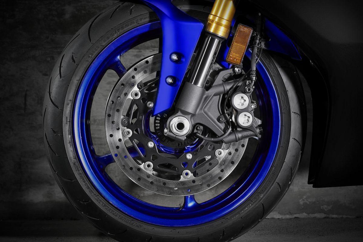2019 Yamaha YZF600R6 EU Yamaha Blue Detail 007 Tablet YZF R6