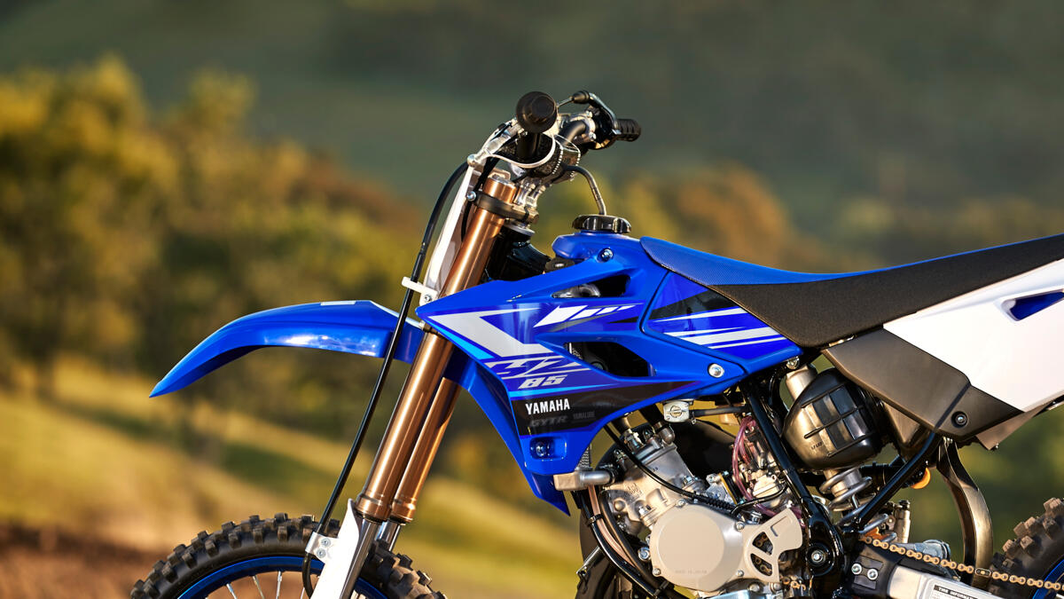 Fork Springs Yamaha YZ 85 with matching Spring rate for the driver # yz85